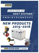 New products brochure 2016