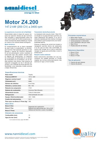 Feuillet Z4.200 ESP