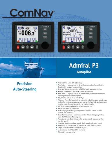 Admiral P3 Autopilot