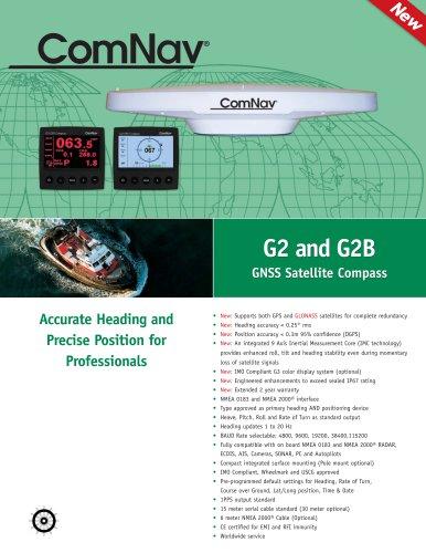 G2 & G2B GPS Satellite Compass