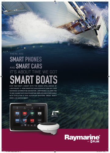 Smartboat: aSeries, Evolution, LightHouse II