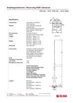 ELNA - HF Whip / Rod Antennas