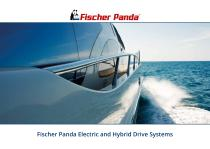 Fischer Panda Electric and Hybrid Drive Systems