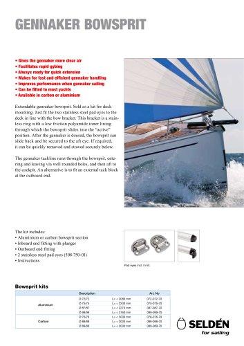 Gennaker bowsprit