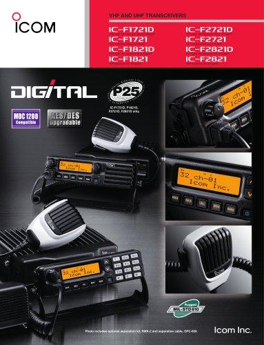 C-F1721/D, IC-F1821/D, IC-F2721/D, IC-F2821/D