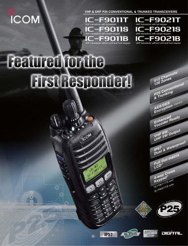 IC-F9011T/S/B, IC-F9021T/S/B