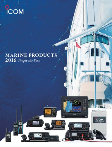 MARINE PRODUCTS 2016 (USA)