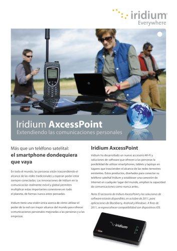 Iridium AxcessPoint