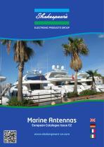 Marine Antennas European Catalog