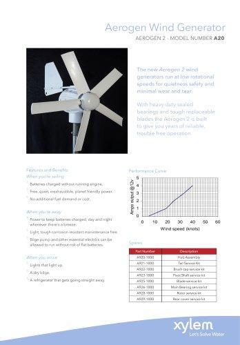 Aerogen Wind Generator