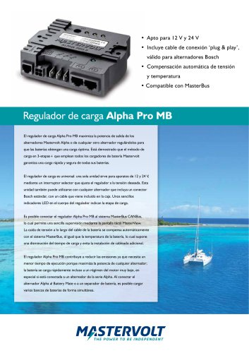 Alpha Pro MB charge ...