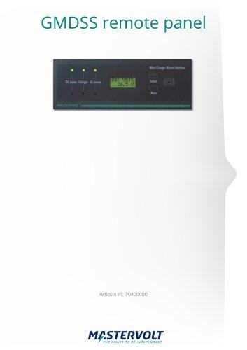 GMDSS remote panel