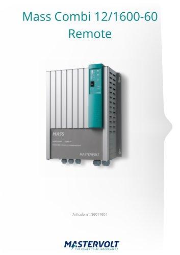 Mass Combi 12/1600-60Remote (230 V)