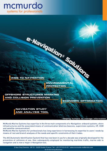 e-Navigation Solutions