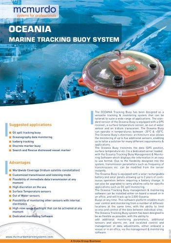 MARINE TRACKING BUOY SYSTEM