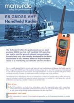 R5 GMDSS VHF Handheld Radio