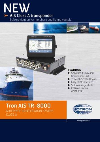 AIS Class A transponder