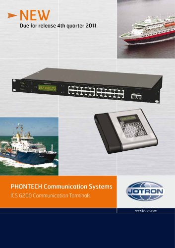 ICS 6200 Communication Terminals