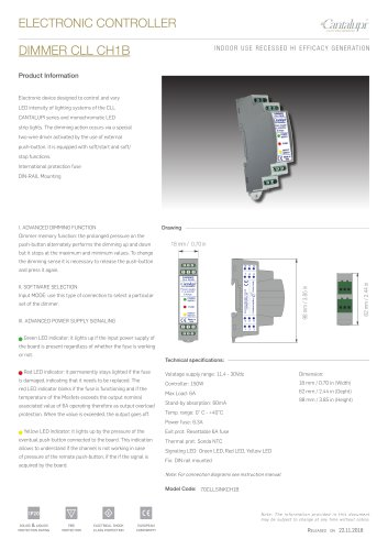 DIMMER CLL CH1B