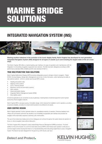INTEGRATED NAVIGATION SYSTEM (INS)