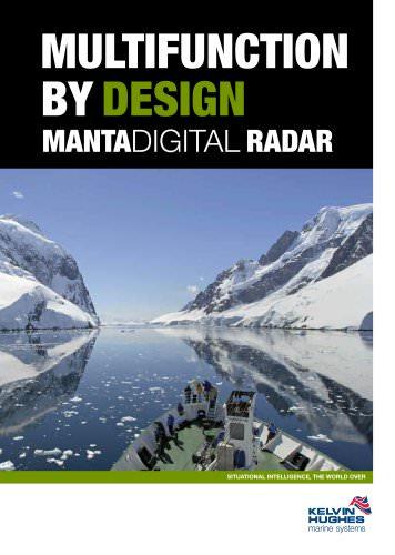MantaDigital? Radars Brochure