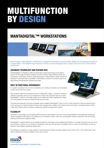 MULTIFUNCTION BY DESIGN MAnTAdigiTAl? WorKSTATionS