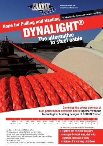 Câble textile de traction Dynalight