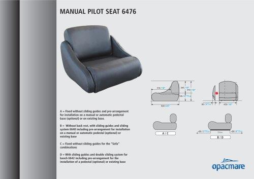seats model 6476