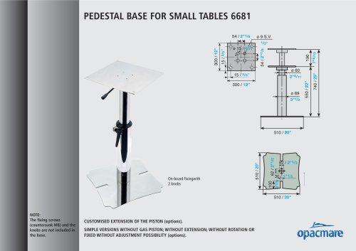 table bases model 6681