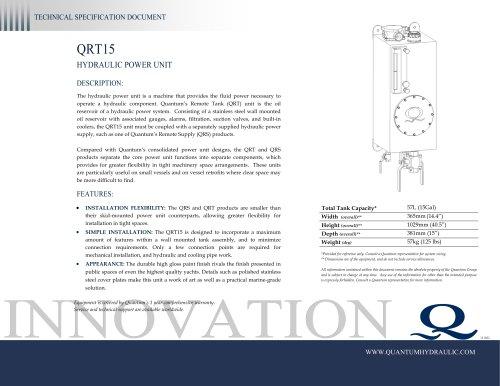 HPU QRT15