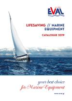 CATALOGUE 2019 : LIFESAVING / MARINE EQUIPMENT