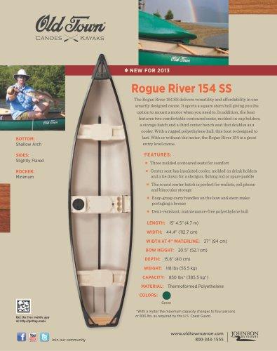 Rogue River 154 SS