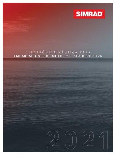 Simrad EMEA 2021 Catálogo
