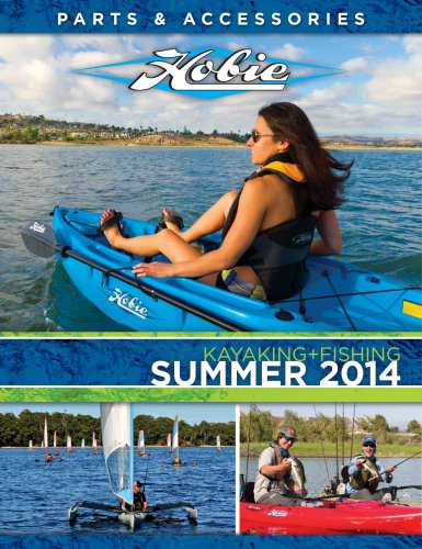 2014 summer international kayaking parts catalog