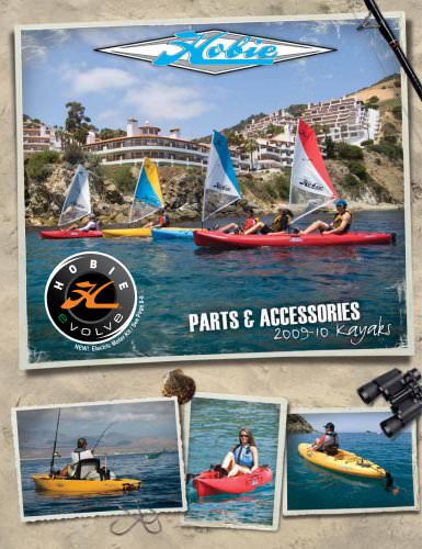 New Hobie-Kayak accessories and parts