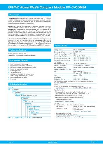 PowerPlex® Compact Module