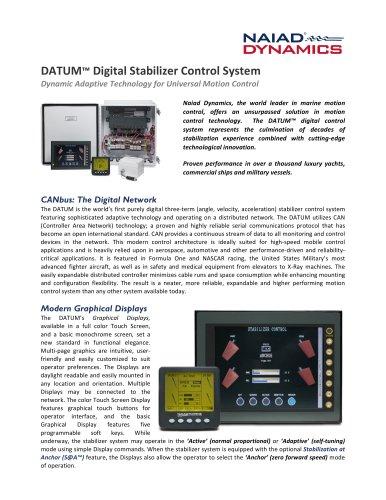DATUM Digital Stabilizer Control System