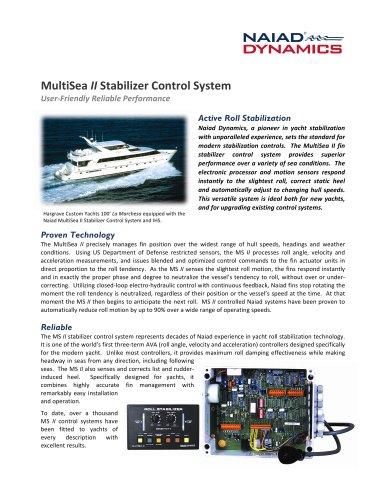 MultiSea II Stabilizer Control System