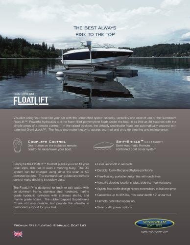 FloatLift Metric Sales Sheet