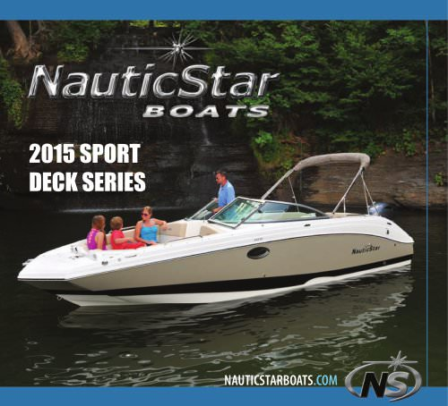 2015 Deck Boats Catalog