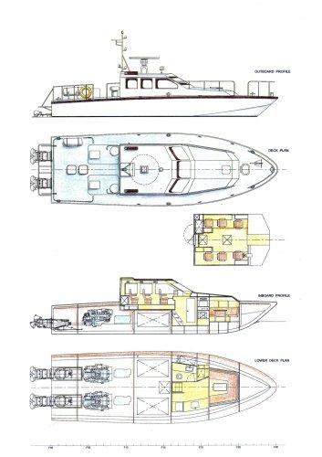 15M Ultra Fast Patrol Boat (Waterjet)