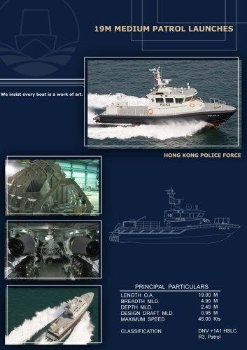 19M Ultra Fast Patrol Boat