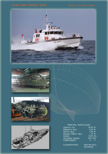 26.5M Patrol Boat