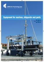 Grúas pórtico para barcos - tamaño XS-S-M