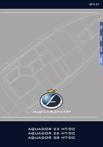 AQUADOR 23 HT/DC, 26 HT/DC, 28 HT/DC
