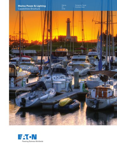 Marina Power and Lighting Capabilities Brochure