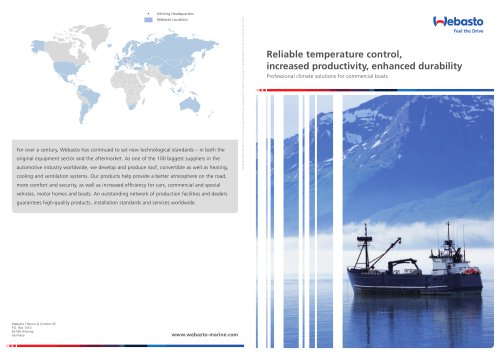 Commercial Boat brochure