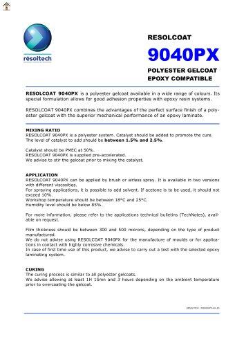 RESOLCOAT 9040PX