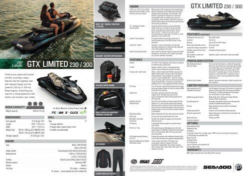 GTX LIMITED  230 / 300