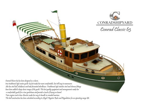 CONRAD CLASSIC 63 BROCHURE